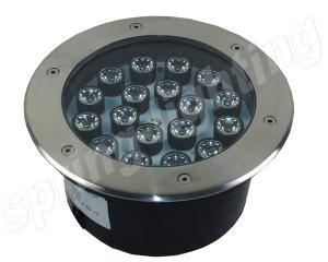 China Outdoor Decorative Recessed RGB LED Flood Light , 18w IP65 Inground Light on sale