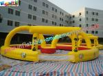 China PVC Inflatable Sports Games Race Track , Inflatable Car Race Track wholesale