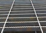 Q235 Carbon Steel Grating , ISO9001 Approval Galvanised Steel Mesh Flooring