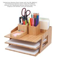 high quality bamboo pencil holder using pen holder office or home