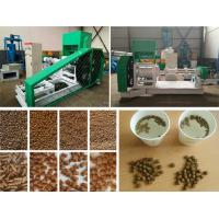 China Extruding Type Fish Feed Extruder 700kg Per Hour Chicken Feed Pellet Machine on sale