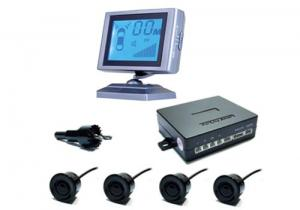 China 12V - 24V , 2 - 0.4m Detecting Range LED Display Vision Parking Sensor Voice Adjustment on sale