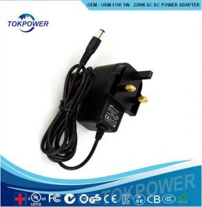 China Universal Battery Charger Single Output Wall Mount Power Adapter Travel 5w 12w for CCTV Camera on sale