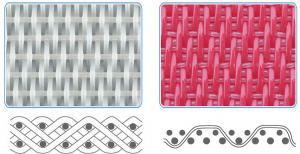 China Polyester spiral dryer fabrics on sale