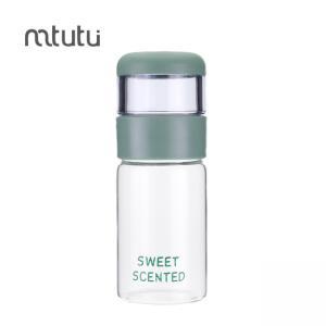 China Mtutu 250ml 210g Personalized Glass Water Bottle on sale