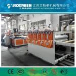 Polypropylene building construction template extrusion line