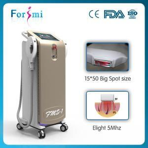 China FDA Approved IPL SHR Machine With Big Spot Size Crystal vertical ipl lamp 3000W big screen on sale