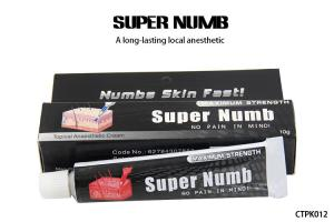 10G Super Numb 5% Anesthetic Skin Numbing Cream For Tattoos / Laser ...