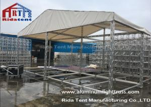China Portable Light Aluminum Stage Truss 100mm X 100mm Size TUV Certificated on sale
