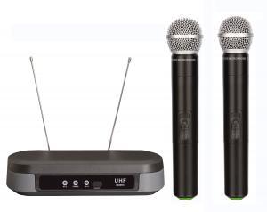 China 7210  cheap price dual channel wireless microphone UHF micrófon 2MICS SHURE PG88 on sale