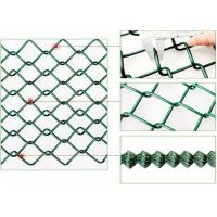 China Galvanised Chain Link Fencing / Chain Link Security Fence For Animal Protecting on sale