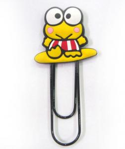 China PVC Bookmark Paper Clip on sale