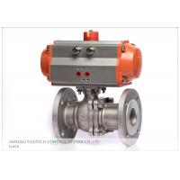 China Stainless Steel Flanged Pneumatic Actuator Valve Control For Industrial Use on sale