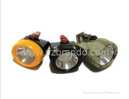 China KL2.5LM A cordless safety cap lamp with 2.5Ah Li-ion battery on sale
