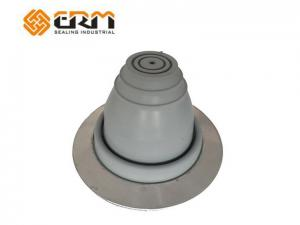 China EPDM Vent Pipe Flashing For Profiled Sheeting , Rubber Pipe Flashing on sale