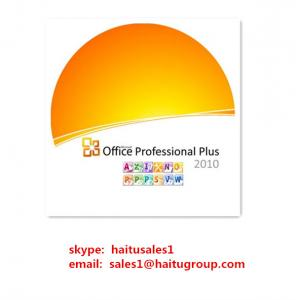 China Office 2010 Professional Plus FPP Online For Microsoft Office Product Key Code on sale