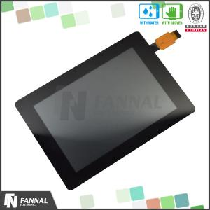 China Industrial Capacitive 3.5'' TFT LCD Touch Screen , Multi Touch Screen Panel MSG2133A on sale