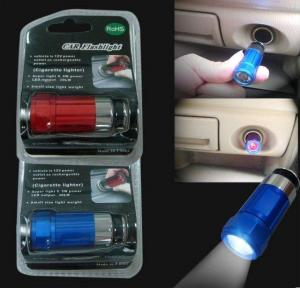 China Car Rechargeable Flashlight, Car's Cigarette Lighter Torch on sale