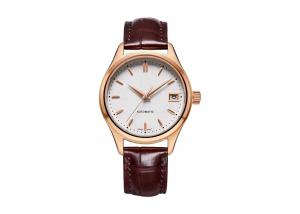 China Automatic Stainless Steel Watch Three Hand Antique Custom 9015 Movt Sapphire Glass on sale