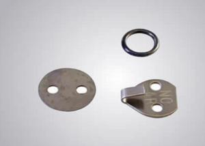 China Insulation Lacing Ring Washer Syatem , Lacing Hook System For Fixing Fabrication on sale