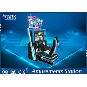 China 3D LCD Screen Racing Game Machine Initial D5 Arcade Racing Simulator on sale