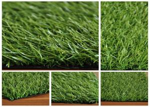 China Green Soft Imitation Grass Lawns Artificial Grass Yard 200cm Width on sale