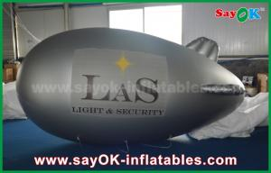 China PVC 5m Inflatable Helium Balloon Airplane Zeppelin for Promotional on sale