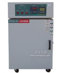 China 300 Degrees Single Open Door Industrial Oven , Hot Air Circulating Oven Overload Protection on sale