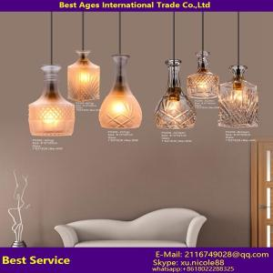 China Modern lighting facotry wholesale the modern glass pendant light on sale
