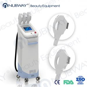 China Newest cost best home use ipl machine with 2 heads for fastest hair removal on face on sale