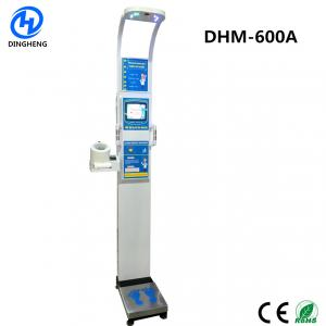Quality DHM-600A Medical Ultrasonic height weight bmi scale with blood pressure Medical for sale
