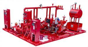 China UL/FM Horizontal Split Case Fire Pump Assembly 1 Motor 1 Diesel 1 Jockey on sale