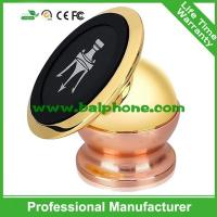 Gold Metal 360 Degree Rotation Magnetic Car Mount Universal Mobile Phone car holder