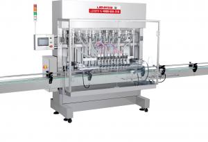 China Automatic liquid soap filling line on sale