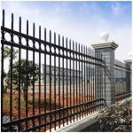 Wrought iron fence/ Ornamental fence/ iron steel fence for home and garden decoration Europe style