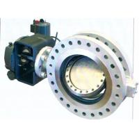 China Bidirectional API609 Metal Seal Butterfly Valve Replaceable Seat B16.47 on sale