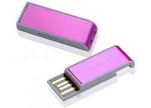 China Push Pull Rope Chain  8GB Mini Usb Pen Drive Purple Blue Green Black on sale