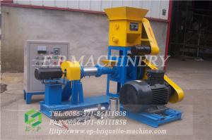 China Hot sale floating fish feed pellet making machinery with high quality on sale