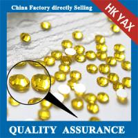 China flat back decorative crystal stone,decorative flat back loose crystal stone,nail decorative crystal stone on sale