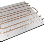 Cold Plate Copper Tube Water Cooled Heat Sink Aluminum Heatsink Extrusions