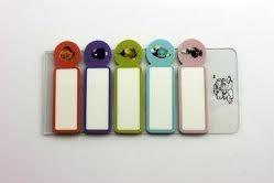 China PET Self-stick Custom Printed Bookmarks / Fun Sticky Notes With Personalized Out look on sale