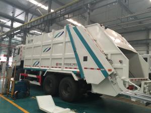 China 6x4 10 wheel 12cbm Garbage Compactor Truck 371 hp Horsepower SGS Certification on sale
