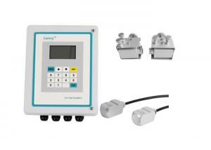 China High Accuracy Clamp On Type Ultrasonic Flow Meter No Need Daily Maintenance on sale