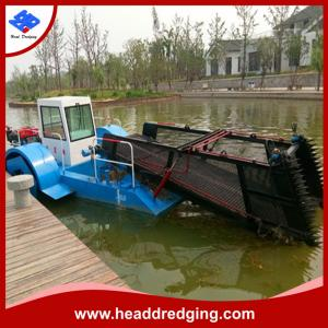 China hot selling aquatic weed harvester trash hunter trash skimmer with good price on sale