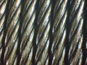 China elevator steel wire rope 8X19S+FC 8x19+sisial core on sale