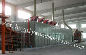 China Plywood and veneer machine-veneer dryer on sale