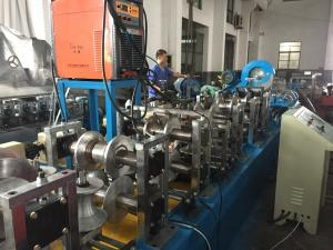 China Pipe Mill  Gearbox Drive High Frequency Square Tube Production LineRoller Machine PLC Control on sale
