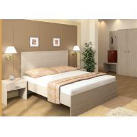 Melamine Laminated Hotel Contract Furniture Panel Wood Style Custom Sizes