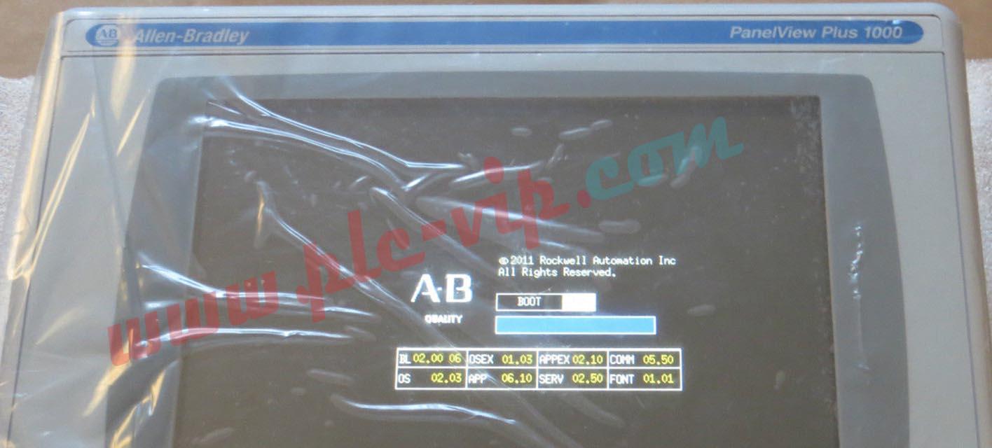 Allen Bradley PanelView 2711P-T10C4D8 / 2711PT10C4D8 for