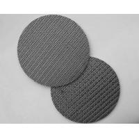 Sintered Stainless Steel Filter Mesh 304/316/316L Round Opening Metal Mesh